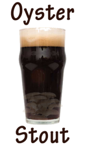 oyster stout shroom beer