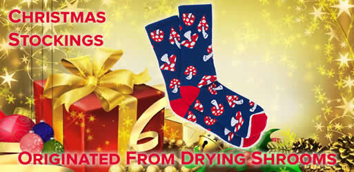 Christmas Stockings Originated From Drying Shrooms